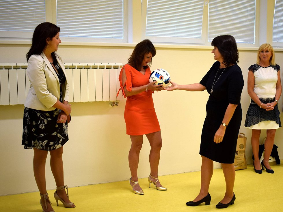 Slavnostní otevření nové školy Erudio v Žamberku.
