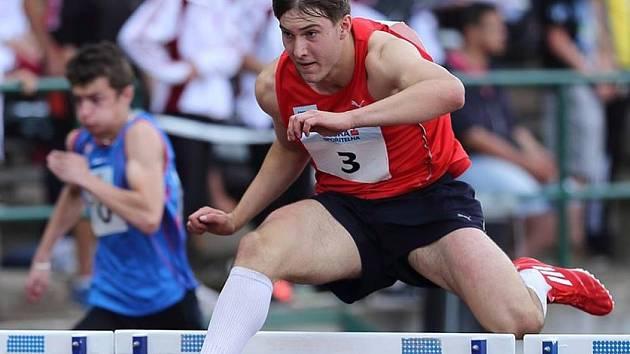 Jan Doležal je novým držitelem dorosteneckého rekordu v desetiboji, který má nyní hodnotu 7430 bodů.
