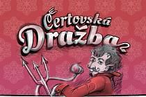 Logo Čertovské dražby.