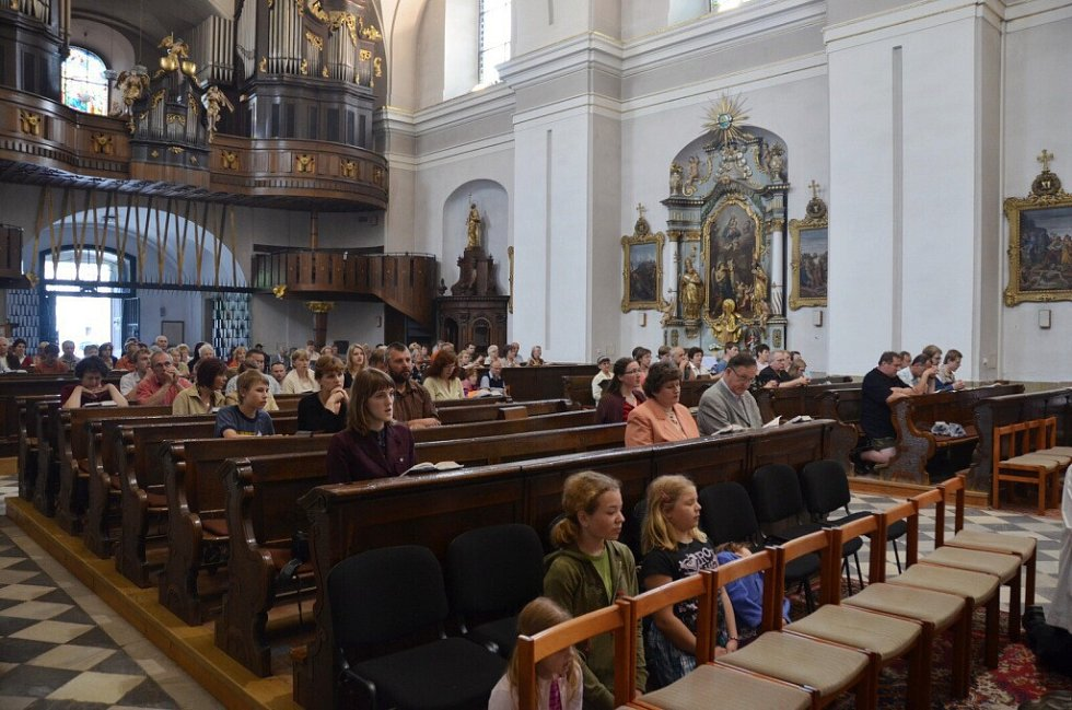Z farního dne v Ústí nad Orlicí.