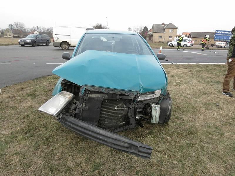 Zámrská křižovatka je místem častých dopravních nehod.