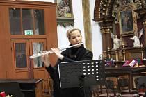 Kostel ožil vánoční hudbou.