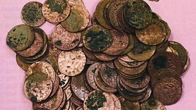 Nález 500 starých mincí