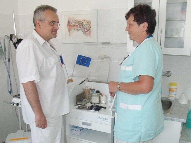 Doktor Leoš Středa.
