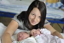 Viktorie Chládková a Rozálie Chládková jsou dvojitou radostí pro rodiče Kateřinu a Dušana Chládkovy z Rudoltic. Dvojčátka se narodila 7. 7., Viktorie  v 16.35 hodin  s váhou 3,14 kg, Rozálie v 16.42 hodin s váhou 2,9 kg.