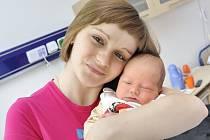 Michal Šeda je první radostí pro Veroniku Dvořákovou a Jaromíra Šedu z Helvíkovic. Narodil se jim 6. dubna ve 12.20 s hmotností 3,92 kg.