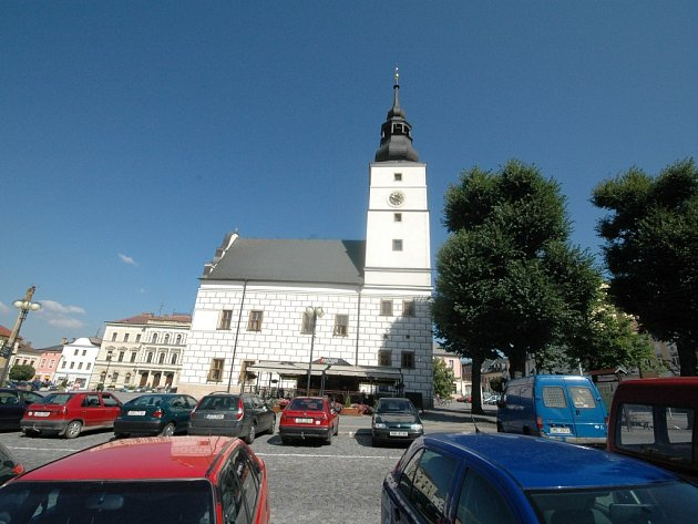 Náměstí v Lanškrouně