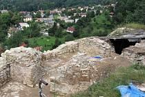 Zřícenina hradu v Brandýse nad Orlicí