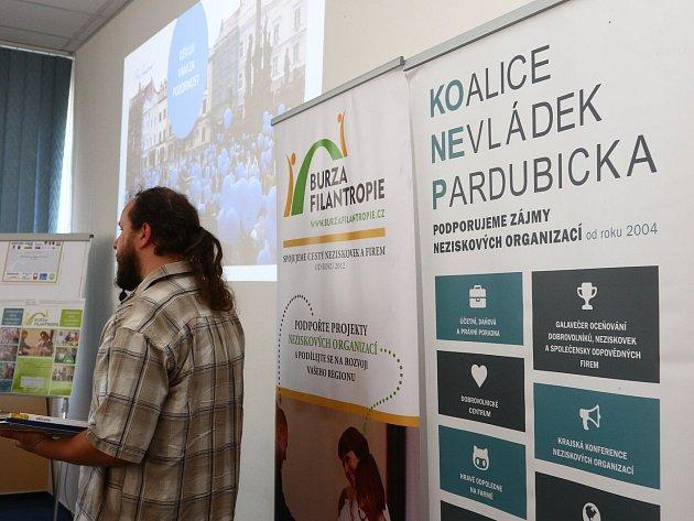 Burza filantropie v Ústí nad Orlicí.