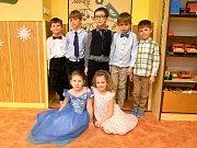 Ples dětí ze šolky v Dobříkově.