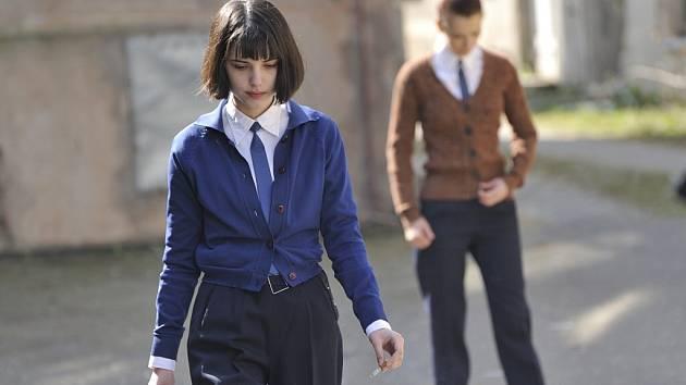 Z natáčení filmu Já, Olga Hepnarová.