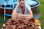 Na houbové hody je připravená Vladimíra Benešová.