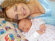 Kateřina Kráčmarová je po Lucince a Terezce třetí holčička do rodiny Jany a Tomáše ze Žichlínku. Narodila se s váhou 3150 g dne 12.10. v 7.54 hodin.
