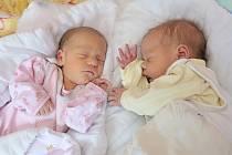 Petr a Marie Duškovi jsou dvojčátka Veroniky a Petra z Dolní Čermné. Na svět přišla 19. 8., Marie v 2,52 hodin s váhou 2,160 kg, Petr v 2.56 hodin s váhou 3,100 kg. Doma se na ně těší sourozenci David a Klementýna.