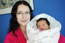 Kristýna Štaudová dělá od 26. října radost rodičům Monice a Robertovi z Ústí nad Orlicí. V 5.35 hodin jí v porodnici navážili 3,35 kg.