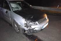 Nehoda v Dolní Orlici.