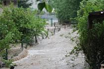 Povodeň v Sopotnici.
