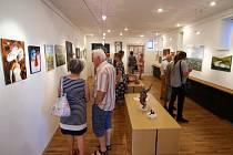 Výstava Ústecký salon 2018 v Galerii pod radnicí v Ústí nad Orlicí.