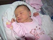 Mája Chládková je prvním dítětem Martiny a Antonína z Lanškrouna. Narodila se 20. 2. v 16.46 s váhou 3,5 kg.