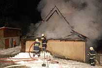 Požár v Kunvaldu.