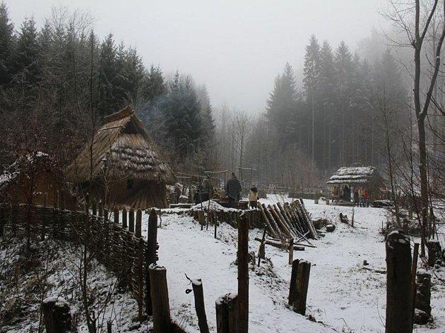 Pravěká osadá Křivolík v České Třebové.