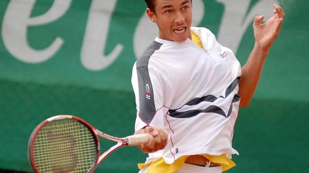 Lukáš Rosol z Přerova se stal novým mistrem republiky v tenisové dvouhře.