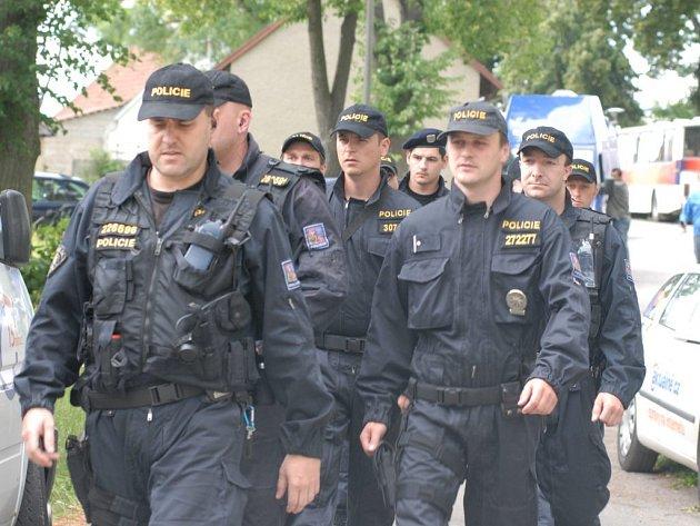 Speciální zásahové jednotky Policie ČR v Noříně.