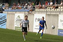 Česká fotbalová liga: TJ Jiskra Ústí nad Orlicí - FK Slavoj Vyšehrad.
