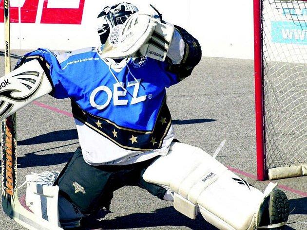 Hokejbal. Ilustrační foto