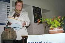 Milena Netolická svého syna Martina Netolického v jeho politické kariéře podporuje nejen účastí ve volbách.