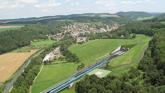 Úsek železniční tratě mezi Ústím nad Orlicí a Chocní je jedním z posledních nemodernizovaných na I. tranzitním železničním koridoru. Je zde omezena rychlost projíždějících vlaků. Zvýšení rychlosti má přinést zkrácení jízdních dob, zvýšení komfortu cestová