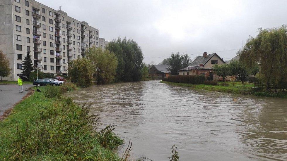 Středeční situace v Ústí nad Orlicí