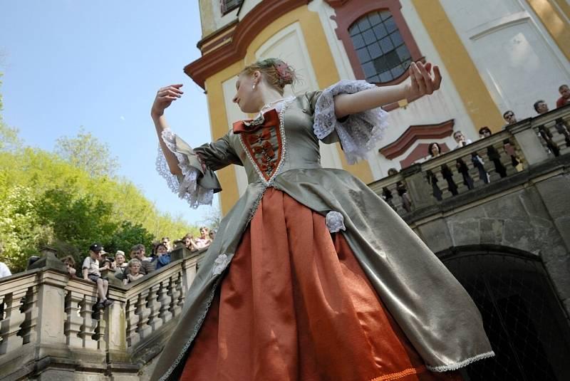 Barokní slavnost na Vraclavi.