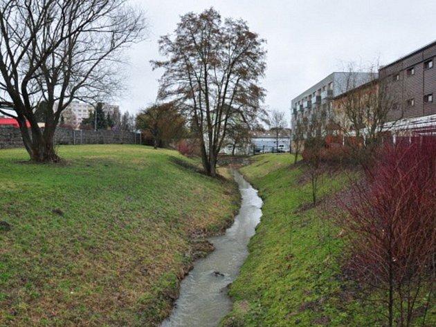 Pivovarská zahrada v Lanškrouně.