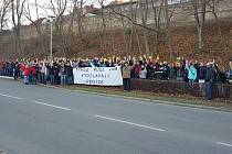 Zaměstnanci Iveca ve Vysokém Mýtě protestují proti vedení společnosti
