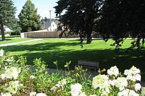 Zámecké zahrady v Lanškrouně.