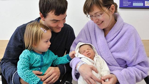 Gita Kubásková se narodila 20. října v 5.16 Veronice a Petrovi z Ústí nad Orlicí, kde se na ni těší sestřička Evička. Vážila 3,52 kg.