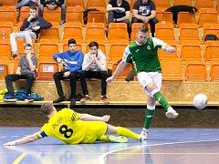 Varta futsal liga - čtvrtfinále play off: Gardenline Litoměřice - 1. FC Nejzbach Vysoké Mýto.