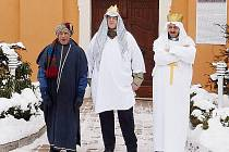 Tři králové na Žampachu.
