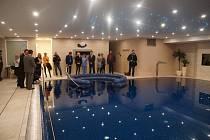 V Rehabilitačním ústavu v Brandýse nad Orlicí otevřeli nově rekonstruovaný bazén.