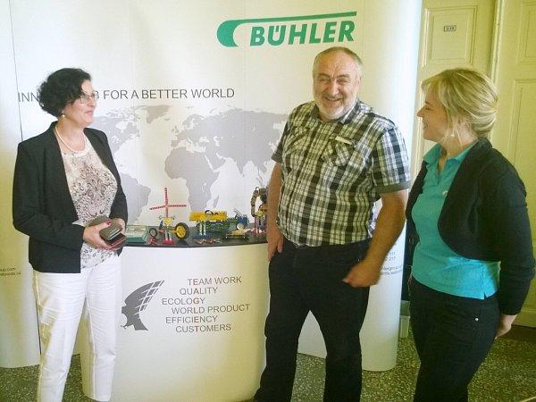 Svátky dřeva ustánku společnosti Bühler CZ.