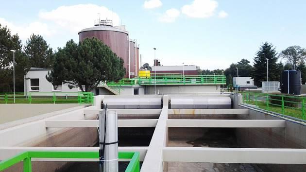 modernizovaná čistírna odpadních vod