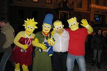 Králíky žily karnevalem.