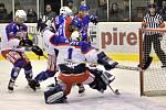 Krajská hokejová liga: HC Kohouti Česká Třebová - HC Litomyšl.
