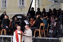 Markovy pašije na Václavském náměstí v Letohradu.