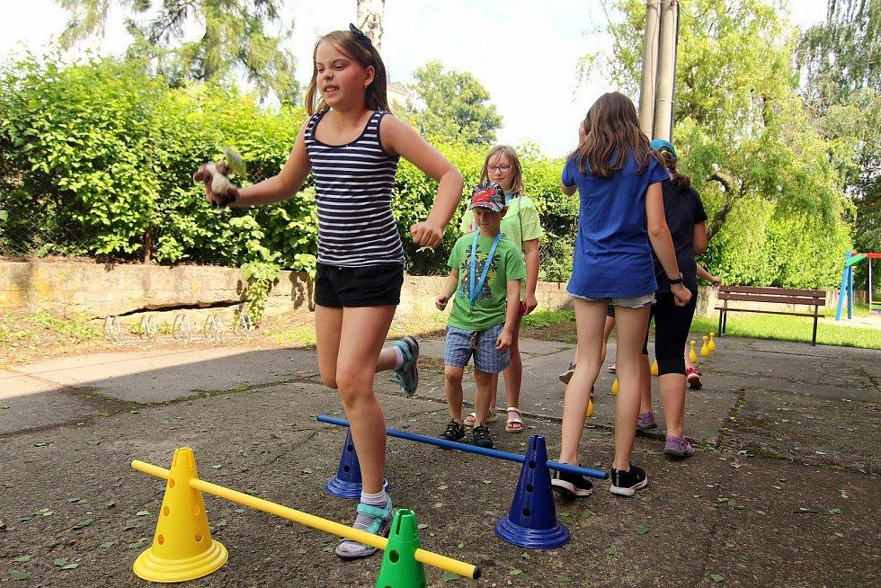 V ústecké městské části Knapovec připravili na poslední červnový víkend řadu akcí.