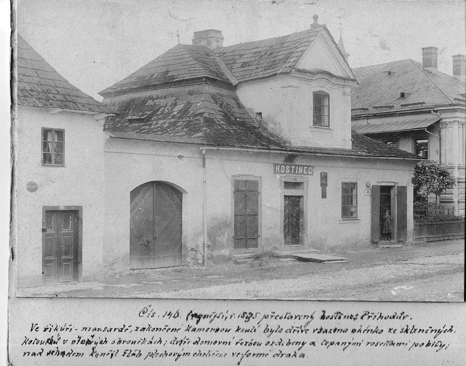 Hostinec U Příhodů, č.p, 146, rok 1917