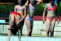 Z Aquaparku v Ústí nad Orlicí.