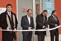 Ze slavnostního otevření nového plicního oddělení Odborného léčebného ústavu Albertinum v Žamberku.