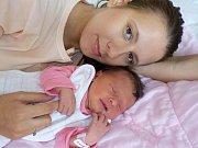 Dorothea Maixnerová bude jako prvorozená těšit rodiče Lenku Rajnetovou a Pavla Maixnera z Dolní Dobrouče. Narodila se 1. 9. v 19.21 hodin a vážila 3188 g.